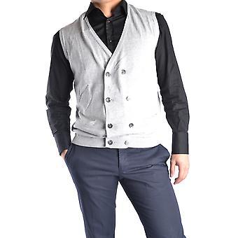 Massimo Rebecchi Ezbc214001 Men's Grey Cotton Vest