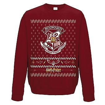 Unisex Harry Potter Zweinstein kerst jumper