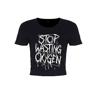 Grindstore Ladies/naisten Stop tuhlaa happi sato Top