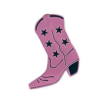 Foil Cowboy Boot Silhouette