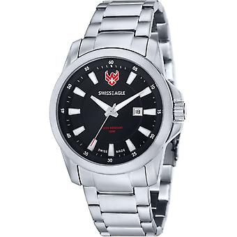 Swiss Eagle SE-9056-11 Heren Horloge