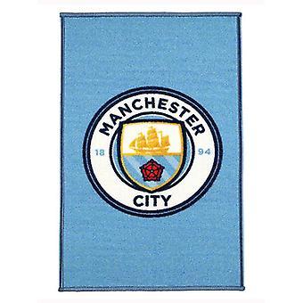 Manchester City FC Crest Boden Teppich