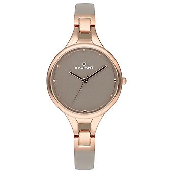 Radiant Caprice Quartz Analog Woman Watch with Ra423604 Cowskin Bracelet