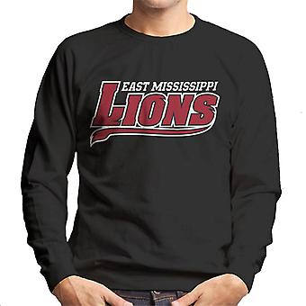 East Mississippi Community College Lions Tail Logo Men's Sweatshirt