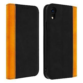 Apple iPhone XR Folio Fall Speicherkarte Video Stand schwarz