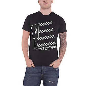 The Selecter T Shirt Band Logo Two Tone Stripes new Official Mens Black