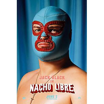 Nacho Libre (Double-Sided Advance Style D Fancy Dress Mask) (2006) Original Cinema Poster