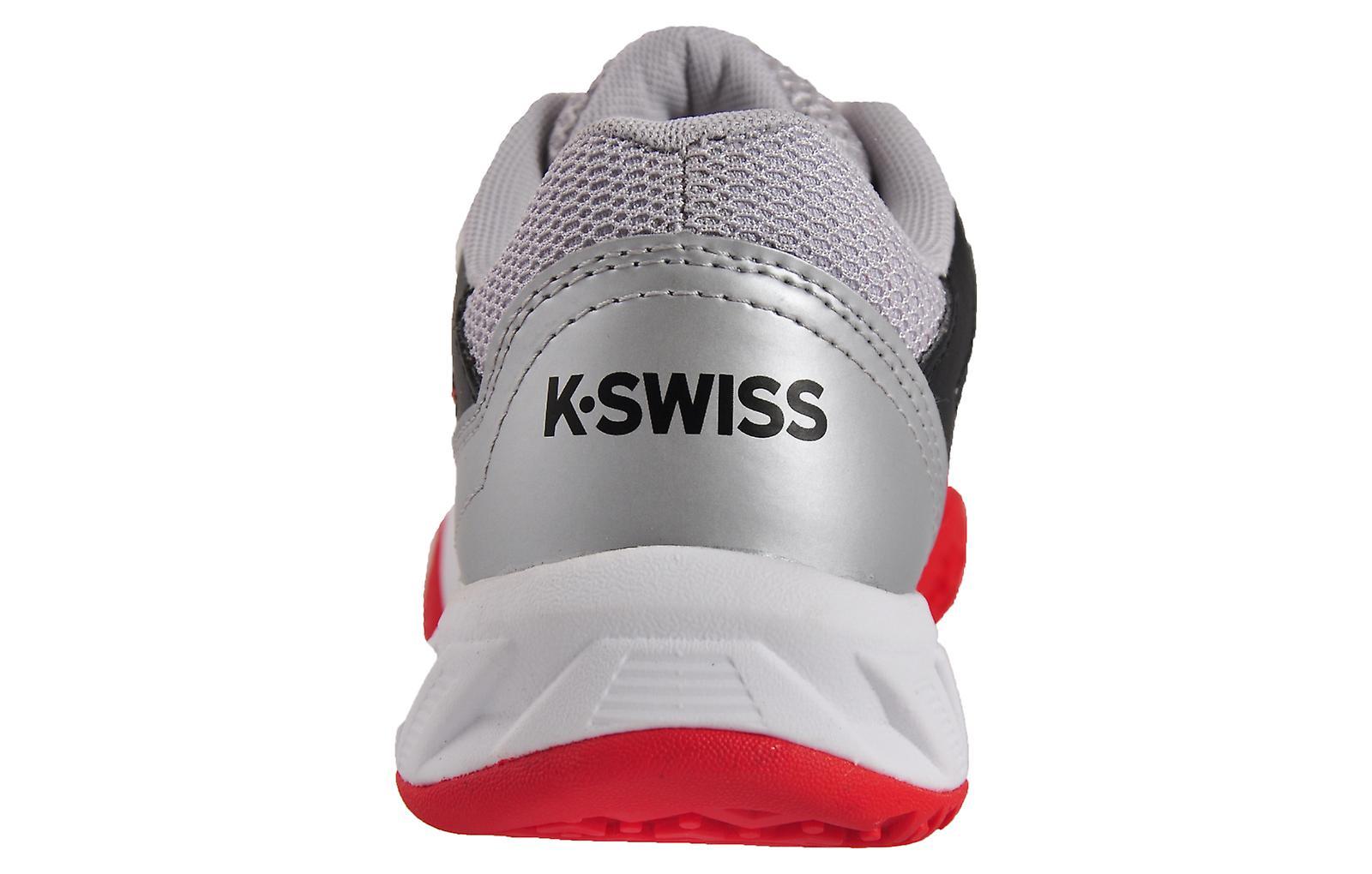 K Swiss Bigshot Light 3 Omni Junior Red / Black / Silver