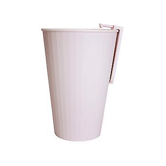 Toothbrush holder with mug-pink