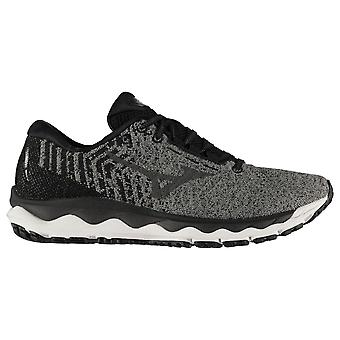 Mizuno Mens Gents Wave Sky Waveknit 3 Lace-Up Running Trainers Sports Shoes