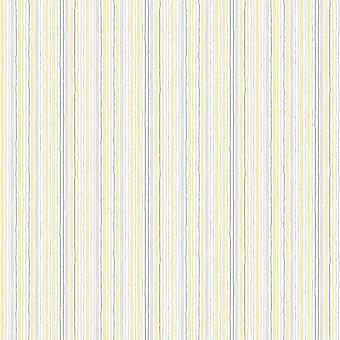 Yellow Grey Stripes Wallpaper Silver Metallic Striped Lines Watercolours Galerie