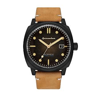 Spinnaker SP-5059-04 Gent's Hull Black Dial Wristwatch