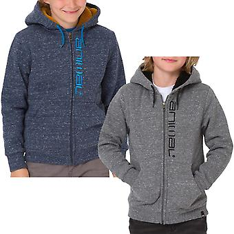 Animal Boys Kids Stanto Long Sleeve Full Zip Hooded Hoody Sweatshirt Hoodie Top