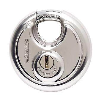 Sterling Heavy Security Closed Shackle Disc Padlock