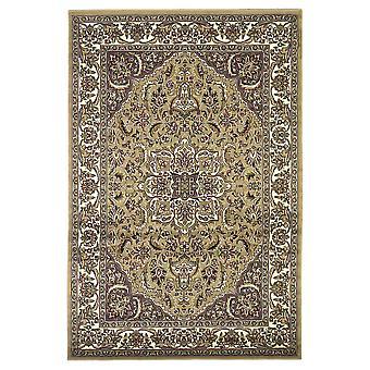 2' x 8' בז' או שטיח רץ מדליון שנהב