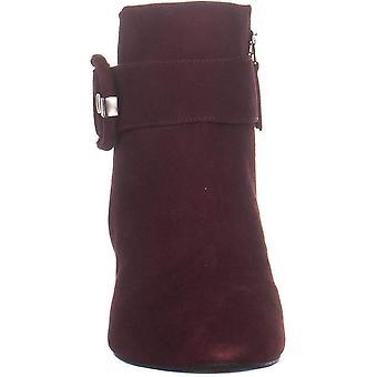 Aquatalia Phiona Ankle Boots, Wine