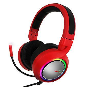 ABKONCORE B1000R REAL 5.2 auriculares para juegos rojos