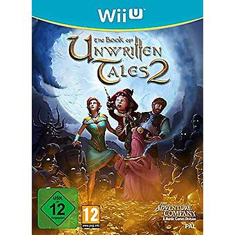 The Book Of Unwritten Tales 2 Wii-U Game (niemieckie pudełko)
