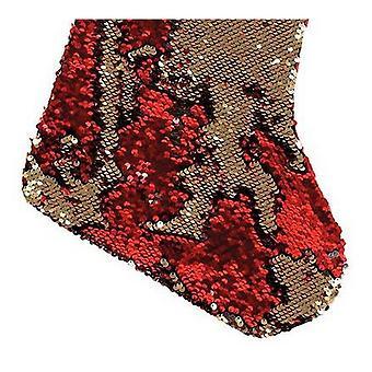 Christmas Shop Reversible Sequin Xmas Bas