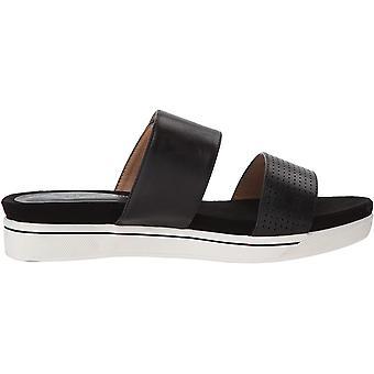 ADRIENNE VITTADINI Schuhe Damen's Calais Sandale, schwarz-klein, 6 Medium US