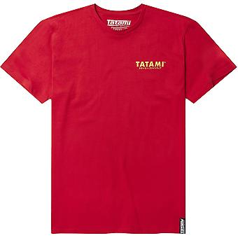 Tatami Fightwear Tiger Style T-Shirt - Red