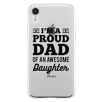 I'm A Proud Dad Case Cool Fun Supportive Grateful Father's Day Gift