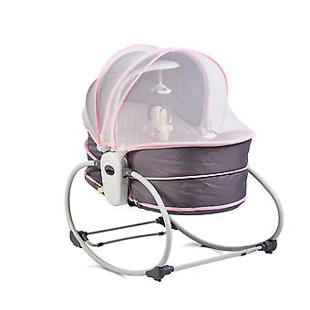 Moni Baby Rocker Ava 5 in 1 con Music Function Vibration Sunscreen Mosquito Net