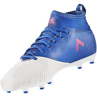 adidas Performance Junior Ace 17.3 Firm Ground Football Training Boots - Blue
