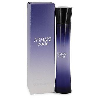 Armani-koodi eau de parfum spray by giorgio armani 430706 75 ml