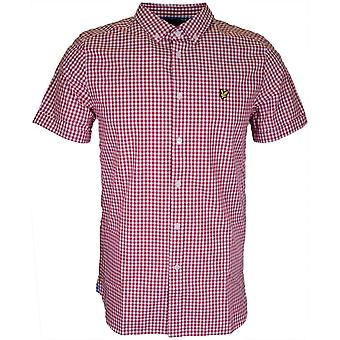 Lyle & Scott Sw401v Gingham Regular Fit Ruby Shirt