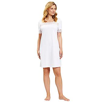 Rasch 1884133-11710 Women's New Romance White Nightdress