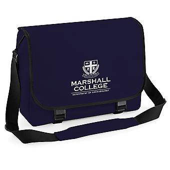 Marshall College Indiana Jones Film Inspirert Messenger Bag, Laptop Skole Gave