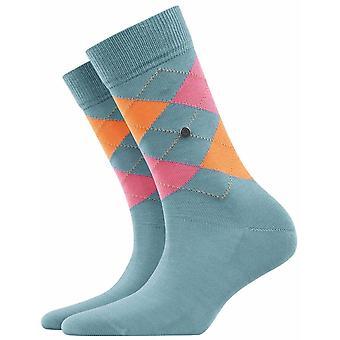 Burlington Covent Garden Socks - Beige/White/Pink