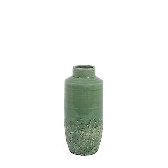 Light & Living Vase Deco 13x29cm Sierra Ceramics Seagreen
