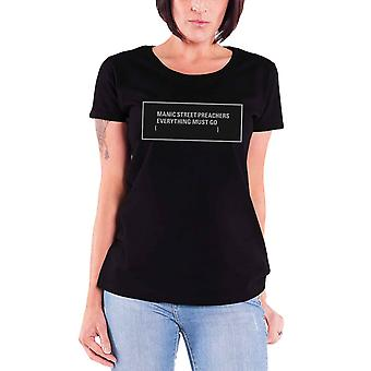 Manic Street Preachers T Shirt Everything Must Go Official Womens skinny fit