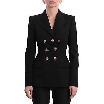 Givenchy Bw30au1009001 Women's Black Wool Blazer