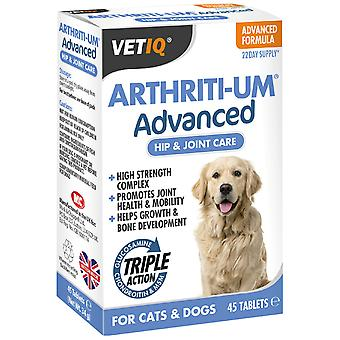Mark & Chappell Vetiq Arthriti-Um Advanced 45 Pastillas (Dogs , Supplements)
