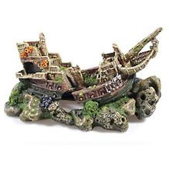 Classic For Pets Large Galleon 310mm (Fish , Decoration , Ornaments)