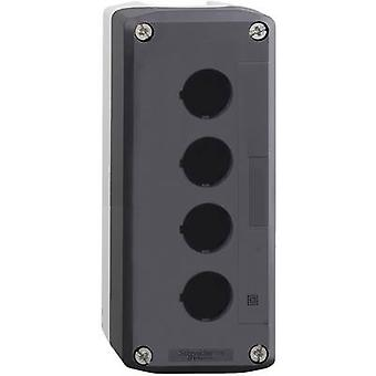 Schneider Electric XALD04 Enclosure 4 installation slots Blank Dark grey, Light grey 1 pc(s)
