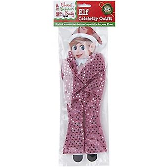 Elves Behavin Badly - Elf Sequin Celebrity Outfit - Pink