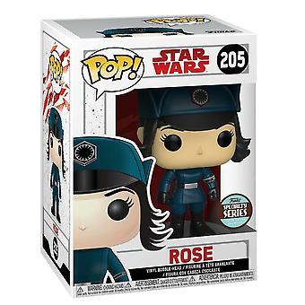 Funko Pop! Vinyl Star Wars die letzten Jedi Rose In Verkleidung Modell Figur #205
