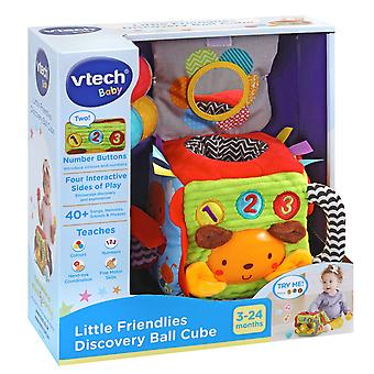 Vtech Little Friendlies Discovery Ball Cube Baby Learning Activity Toy