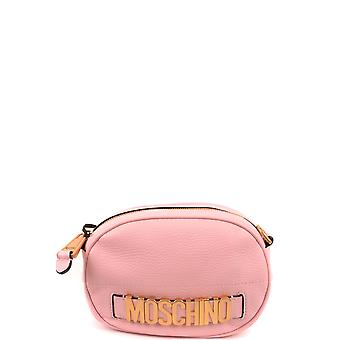 Moschino Ezbc015122 Women's Pink Leather Clutch