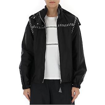 Moncler 4510200c0041999 Women's Black Nylon Outerwear Jacket