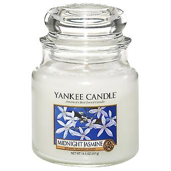 Yankee Candle Medium Jar Candle Midnight Jasmine