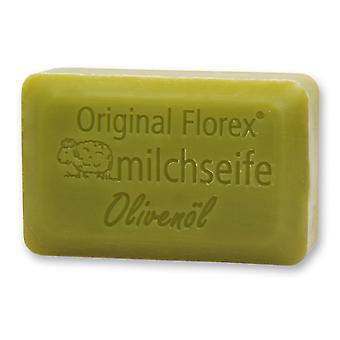 Sabão de leite de ovelha Florex - Azeite de Oliva Luxo - Umidade Intensa com Azeite de Oliva Fragrância Agradavelmente Suave 100 g
