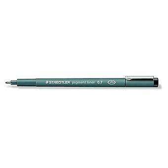 Staedtler pigment liner fineliner 0,7 mm black 308 07-9