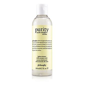 Purity made simple hydra essence with coconut water 242081 200ml/6.7oz
