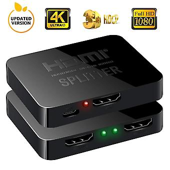 2 porty HDMI Splitter 1x2 - 3D a 4K