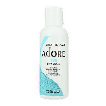 Creative Image Adore Semi-Permanent Hair Color 196 Sky Blue 118ml